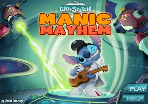 Lilo Et Stitch Manic Mayhem