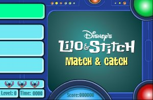 Lilo Et Stitch Match And Catch